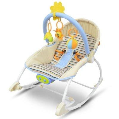 寶寶躺椅哄娃哄睡嬰兒搖椅新生兒睡覺安撫椅兒童躺椅電動搖籃床