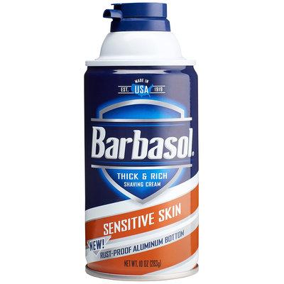 【Barbasol】濃密刮鬍泡-敏感肌膚(10oz/283g)【0960】