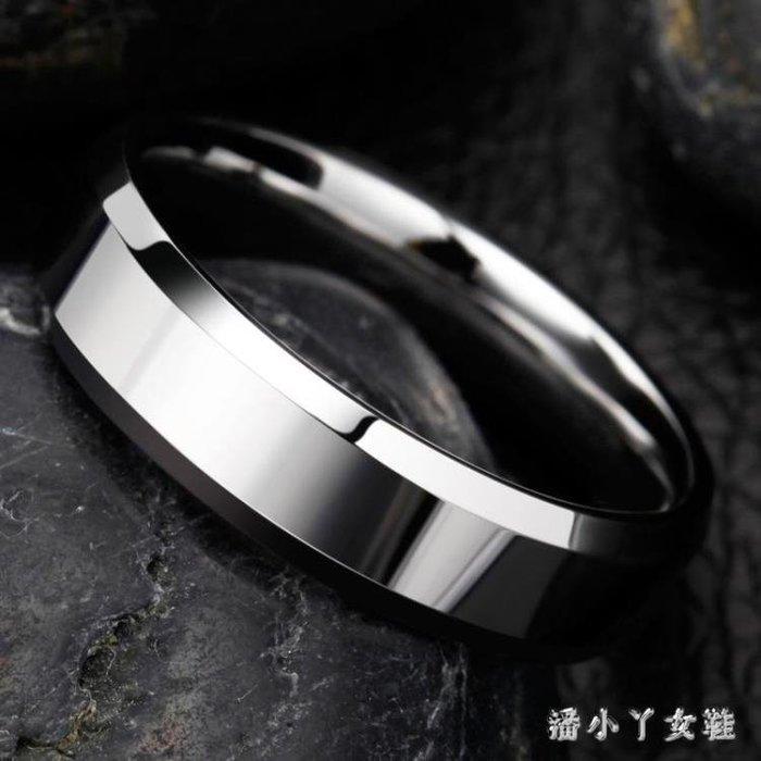 戒指男個性食指指環男士尾戒子黑色潮人飾品 XW1302