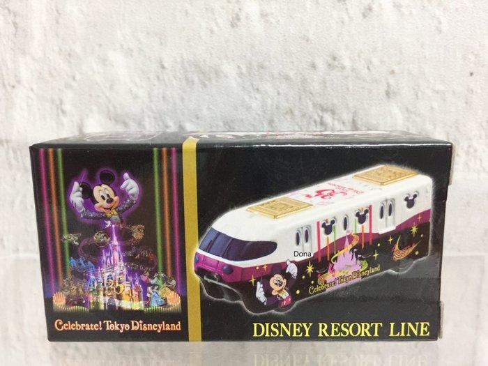【Dona日貨】日本迪士尼樂園限定 Tomy Tomica  米老鼠米奇慶祝35週年紀念 單軌列車  B13