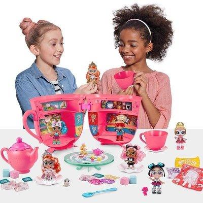 {梵希小鎮} ZURU超大號愛蒂貝蒂下午茶派對魔法杯驚喜娃娃盲盒換衣裝女孩玩具L6G52