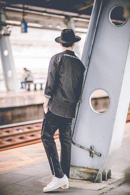 ☆LimeLight☆VAST 2015 A/W Mr.Vast Zipper Crops 黑 灰 S M L XL