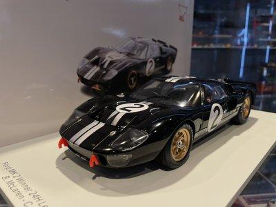 吉華科技@ 1/18 Spark 18LM66 FORD USA - GT40 MKII 7.0L V8 TEAM
