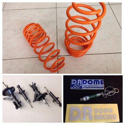 【童夢國際】D.R DOME RACING CIVIC K8 EK 強化運動版 原廠型套裝避震器含短彈簧 KYB
