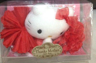 全新kitty康乃馨thanks mother day母親節最佳贈禮