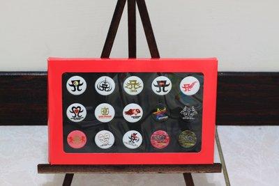 濱崎步15週年紀念之旅巡演標誌徽章15種不同款式