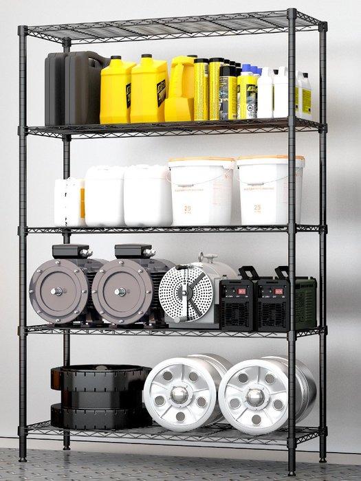 重型大置物架簡易貨架家用展架倉庫儲物架雜物整理鐵架子