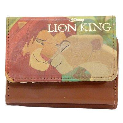 迪士尼Disney《現貨》獅子王 豐富雙面滿版合成皮革三折短夾~日本正品~心心小舖