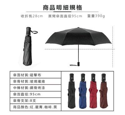 【安全專家】  傘霸  可折疊  輕巧型  全自動  三折傘