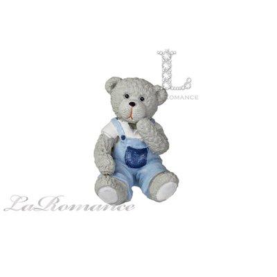 【義大利 Cupido & Company 特惠系列】 白色男生情侶熊 (小) / 泰迪熊 / 童趣動物