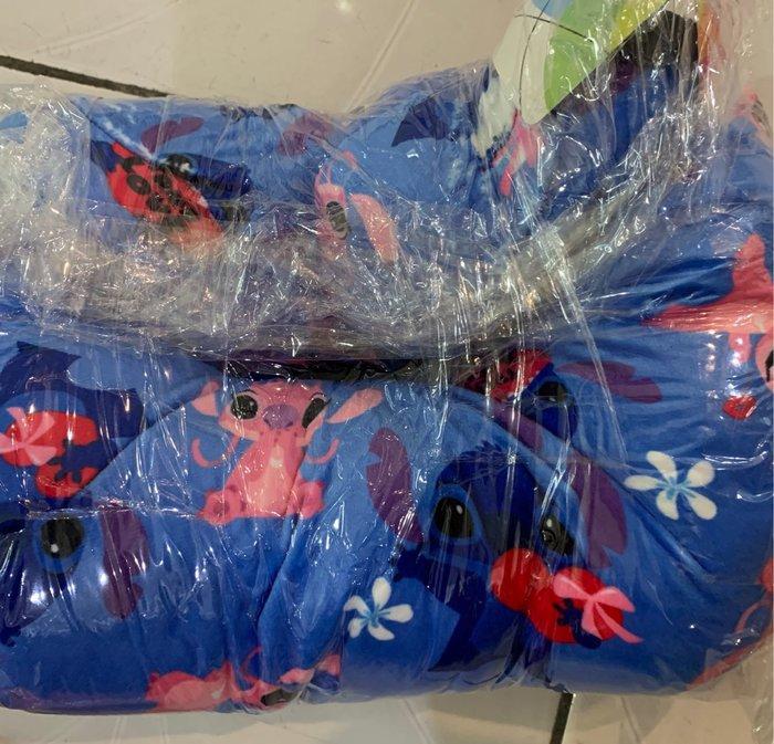 史迪奇 U型枕 午安枕 抱枕 藍色 全新品