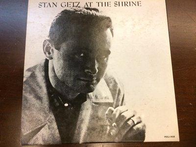 *愛樂熊貓'95超絕版Verve日本24 BIT試音銘盤首發紙盒限定Stan Getz史坦蓋茲at the Shrine