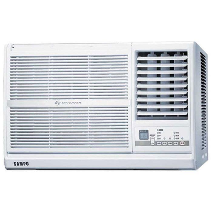 聲寶變頻窗型1級省電全機強化防鏽右吹冷氣機AW-PC41D1左吹AW-PC41DL退稅補助2000元
