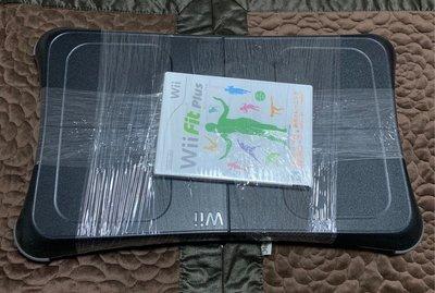 免運(罕見絕版)Wii Fit 原廠黑色平衡板 無果凍套 踏板 附遊戲片