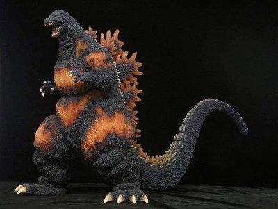 日本正版  X-PLUS 巨大系列 紅蓮 哥吉拉 大山龍 大山竜 1995 美品無出油 有原廠箱