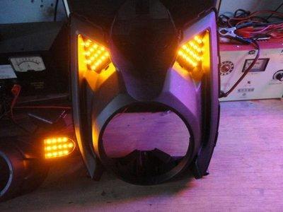 【炬霸科技】BWS 125 大B 飾板 LED 尾燈 方向燈。前蜂巢+LED 防快閃 繼電器