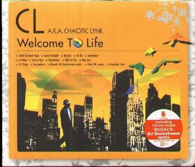K - C.L  CL - Welcome To Life - 日版+3BONUS - NEW