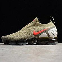 D-BOX Nike Air VaporMax Flyknit 軍綠 紅勾 針織 氣墊 機能慢跑鞋 男休閑鞋