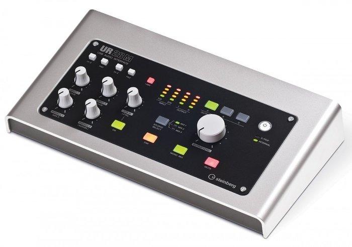 【六絃樂器】全新 Steinberg UR28M USB 電腦錄音介面 / 工作站錄音室 專業音響器材