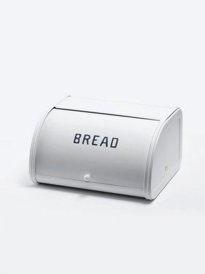 《雪莉工坊+現貨》Homestead/Axcis 經典純白底藍字Bread 推蓋麵包箱 (小尺寸) by 日本鄉村風雜貨