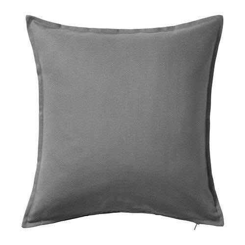 ☆創意生活精品☆IKEA GURLI 抱枕套(灰色) 50x50 公分