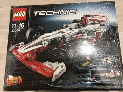 「絕版品」LEGO 42000 F1賽車 Grand Prix RAcer 現貨