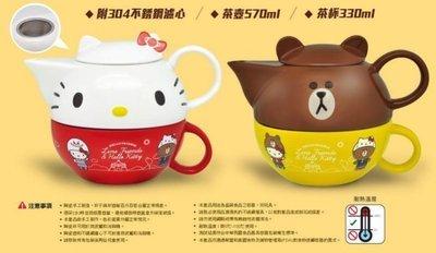 7-11 Hello Kitty X LINE 限量午茶組【下午茶杯壺組2款 】另有玻璃瓶/絨毛玩偶/烤皿