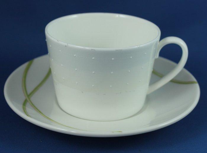 [美]英國百年名瓷ROYAL DOULTON骨瓷茶/咖啡杯組. .ETOILE PLANTINUM系列