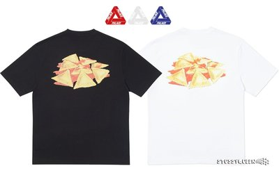 【超搶手】全新正品2019 Palace Small Portion T-Shirt義麵 三角logo S M L XL