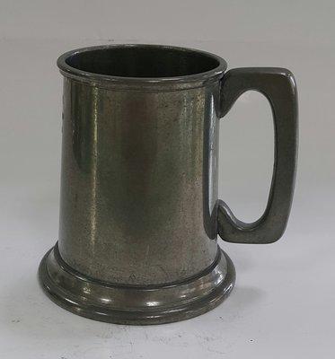 448高檔英國杯vintage   pewter tankard  (約10公分高)  Pint Tankard