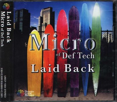 K - Micro of Def Tech - Laid Back - 日版 Yuna Ito - NEW