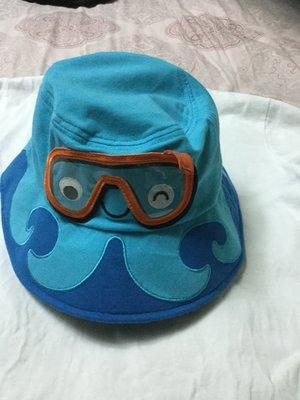 *花露露*why 1/2可愛海底世界漁夫帽(水藍色)超值優惠美品