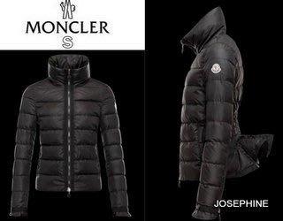 喬瑟芬【MONCLER S】現貨~2013秋冬法國羽皇S系列 Anserine荷葉袖 魚尾羽絨夾克外套