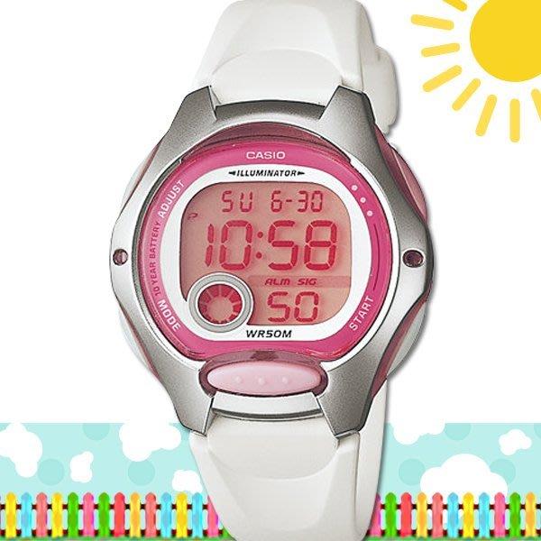 CASIO 時計屋 卡西歐手錶 LW-200-7A 數字錶 兒童錶 球面玻璃 保固 附發票