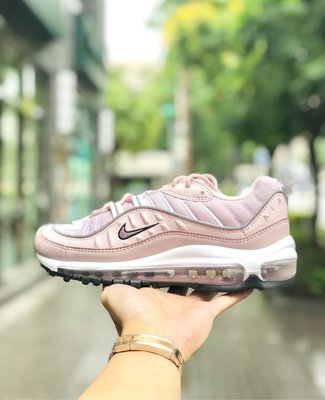 【Cheers】 NIKE W AIR MAX 98 BARELY ROSE 玫瑰粉紅 AH6799-600