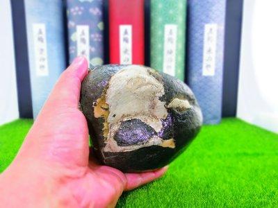 ㊣㊣ 印皇閣 ㊣㊣ 早期私人收藏 - 台灣天然奇石 - 自然成形 - 意形石 - 命名 : 睡骷髏 (奇-20)