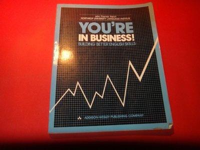 【愛悅二手書坊 16-09】YOU'RE IN BUSINESS 畫注