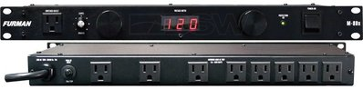 《民風樂府》FURMAN M-8DX 防突波 濾雜訊 電壓顯示 附照明燈 電源供應器 PA機櫃箱必備