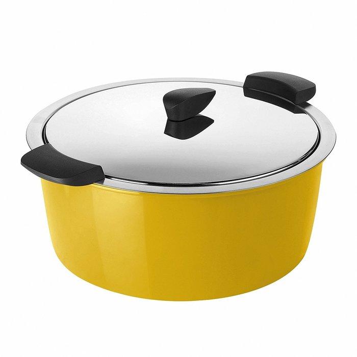 瑞士 KUHN RIKON 4.5L Hotpan悶煮鍋 黃色
