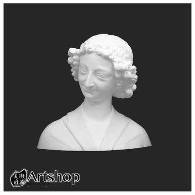 【Artshop美術用品】訂購商品 半面石膏像 素描用石膏像 素描靜物 永恆的微笑 運費另計350