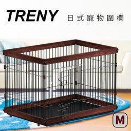 [ 家事達 ] TRENY-0646A 日式寵物圍欄 中-M 托盤好清潔 毛小孩 狗屋 狗籠 貓屋 寵物的家 通風