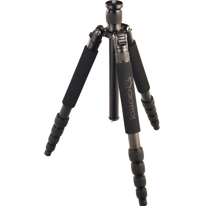 【eWhat億華】GIOTTOS VGR8255 碳纖維5節腳架 可反折跟變單腳架 8255 現貨 【2】