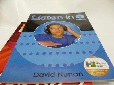 買滿500免運-附1光碟《Listen in: Student》ISBN:0838404189│Heinle & Heinle