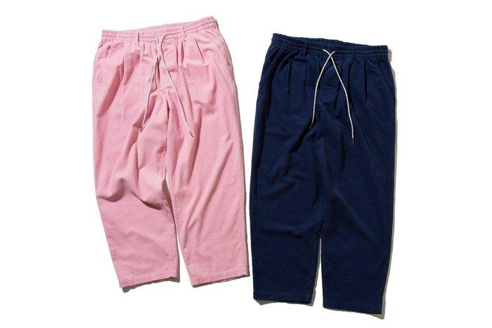 { POISON } DeMarcoLab CORD. EZ PANT-S #3 日本彈性燈芯絨 反光拉繩 打褶寬版褲
