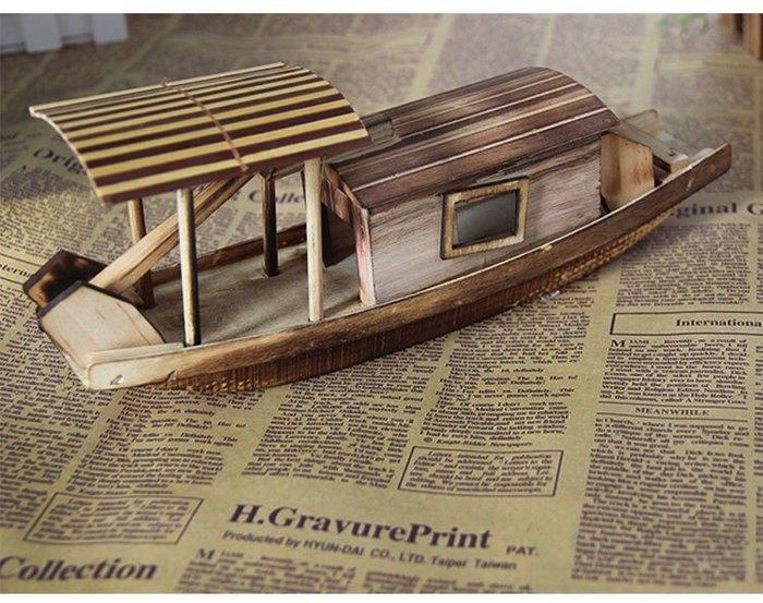 【AC 23】漁船 捕魚 地中海 開店 辦公室 小船 模型 擺飾 裝飾 工藝品 送禮 佈置 道具 裝潢 造型