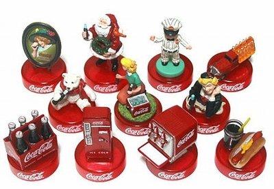 Coca Cola 可口可樂 Graffiti Oldies Figure Collection 懷舊瓶蓋盒玩 共11p