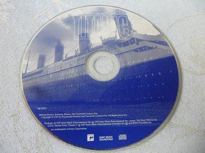 【金玉閣A-210】CD~TITANIC鐵達尼號