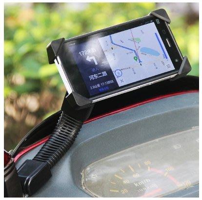 不掉落 後照鏡款 單車 腳踏車 重機 機車 摩托車 打檔車  電動車 手機導航架 手機夾 手機固定座 機車手機座
