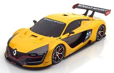 【MASH】現貨特價 OTTO 1/18 Renault RS.01 2015 yellowmetallic