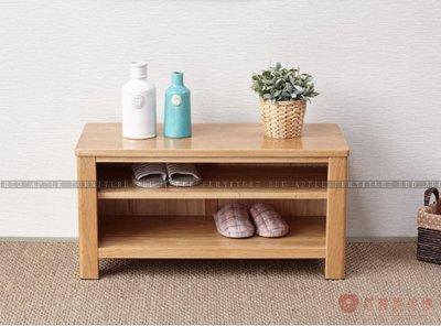 [紅蘋果傢俱]US-L006 換鞋凳 實木 腳凳 矮凳 收納穿鞋凳 北歐 客廳